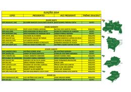 Planilha Eleições 2014