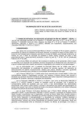 COMISSÃO PERMANENTE DE LEGISLAÇÃO E NORMAS