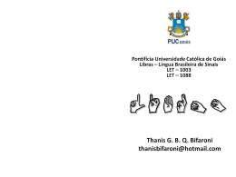 Slides - Histórico da educação dos surdos e legislação