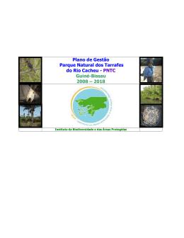 Plano de Gestão Parque Natural dos Tarrafes do Rio Cacheu