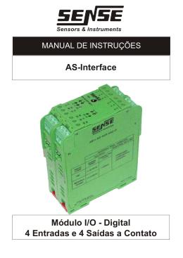 Módulo ASI1-KD-4EP-4SC Manual de Instalação Rev A