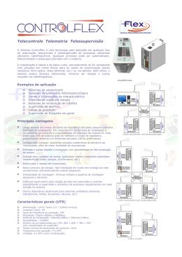 Controlflex - ficha técnica - Flex Telecom