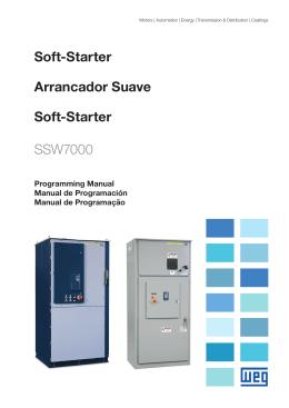 Soft-Starter Arrancador Suave Soft-Starter SSW7000
