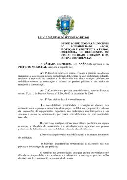 lei nº 3.387, de 09 de setembro de 2009 dispõe sobre normas