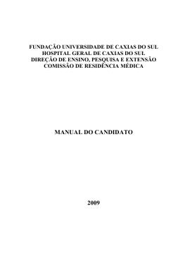 Hospital Geral de Caxias do Sul - faurgs