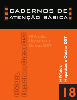HIV/Aids, hepatites e outras DST