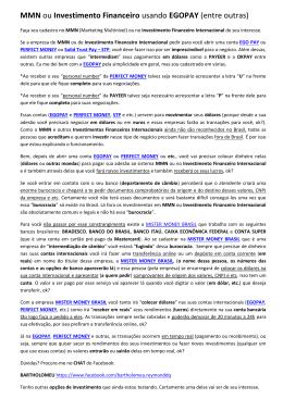 MMN ou Investimento Financeiro usando EGOPAY (entre outras)