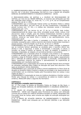 Ato Normativo 736/2012-PGJ-CPJ