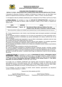 Edital nº 07/2015 - Objetiva Concursos