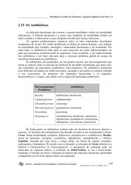 Os Antibióticos e seus mecanismos - 392 Kb