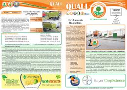 Os 10 anos da Qualicitrus QUALI