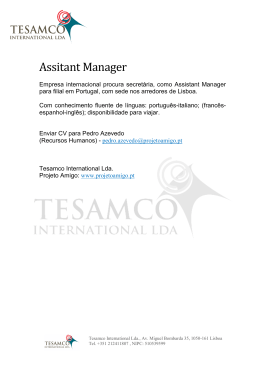 Assitant Manager