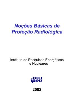 Noções Básicas de Proteção Radiológica