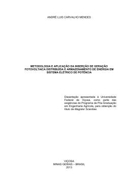 metodologia e aplicação da inserção de geração - Locus