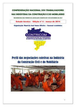 Perfil das negociações coletivas na Indústria da