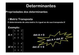 (An) = (det A)