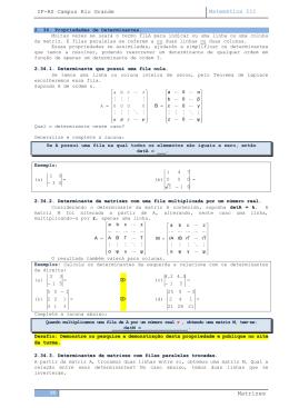 Matrizes - Matemática I