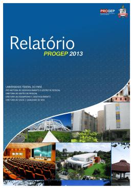 PROGEP. Relatório de Gestão 2013