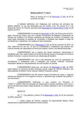nº 711/2012 - Tribunal de Justiça de Minas Gerais