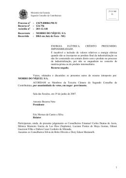 Processo n : 13679.000061/98-51 Recurso n : 124.756 Acórdão n