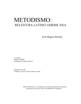 METODISMO: - Igreja Metodista de Vila Isabel