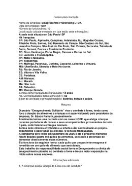 Emagrecentro - Associação Brasileira de Franchising