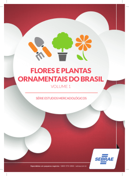 FLORES E PLANTAS ORNAMENTAIS DO BRASIL