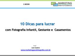 Apresentação do PowerPoint - Marketing para Fotógrafos