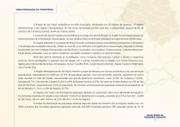 O Estado de São Paulo subdivide-se em 645 - Produtos