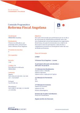 Reforma Fiscal Angolana