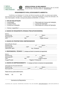 Formulário para empreendimentos imobiliários (PDF 1.36Mb)