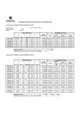 Omega Incorporação de Empreendimentos Imobiliários Ltda