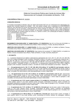 SEI Edital de Concorrência Pública para Venda de I