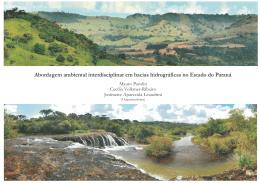 Abordagem ambiental interdisciplinar em bacias