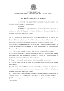 Cópia do documento original - Tribunal Regional Eleitoral do Rio