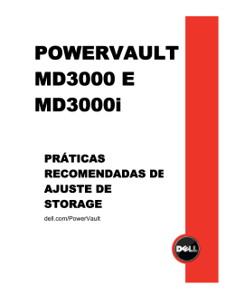 POWERVAULT MD3000 E MD3000i