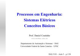 Sistemas Elétricos Conceitos Básicos
