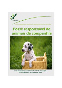 Posse responsável de animais de companhia