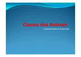 Classes dos Animais [Modo de Compatibilidade]