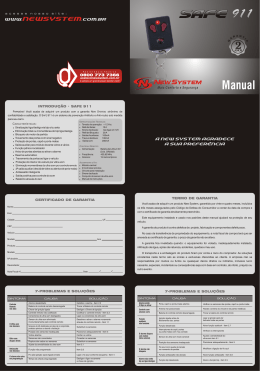 Safe 911 - Manual SITE
