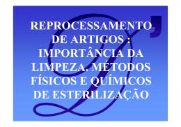 A importânica da higienização adequada - SOBRACIL-RJ