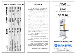 SF40 - SF60 - SF60MI