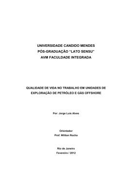 Jorge Luis Alves - AVM Faculdade Integrada