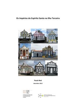 Os Impérios do Espírito Santo na Ilha Terceira