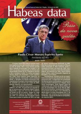 Paulo César Morais Espirito Santo - Tribunal Regional Federal da 2ª