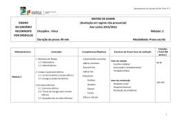 Módulo 2 - Agrupamento de Escolas Rio Tinto nº3