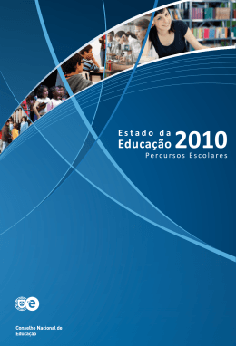 Estado da Educação 2010 Percursos Escolares