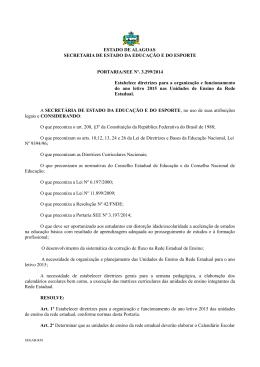 Port_3.299_2014_ORGANIZAÇÃO E FUNCIONAMENTO DO ANO
