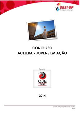 CONCURSO ACELERA - JOVENS EM AÇÃO