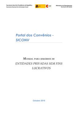 Manual Para Entidades Privadas Sem Fins